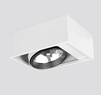 De Ledvarios Lámpara Compact P Plafón Colores Una Ar111 O Aluminio Movimiento Con Para WbDH2Ie9YE