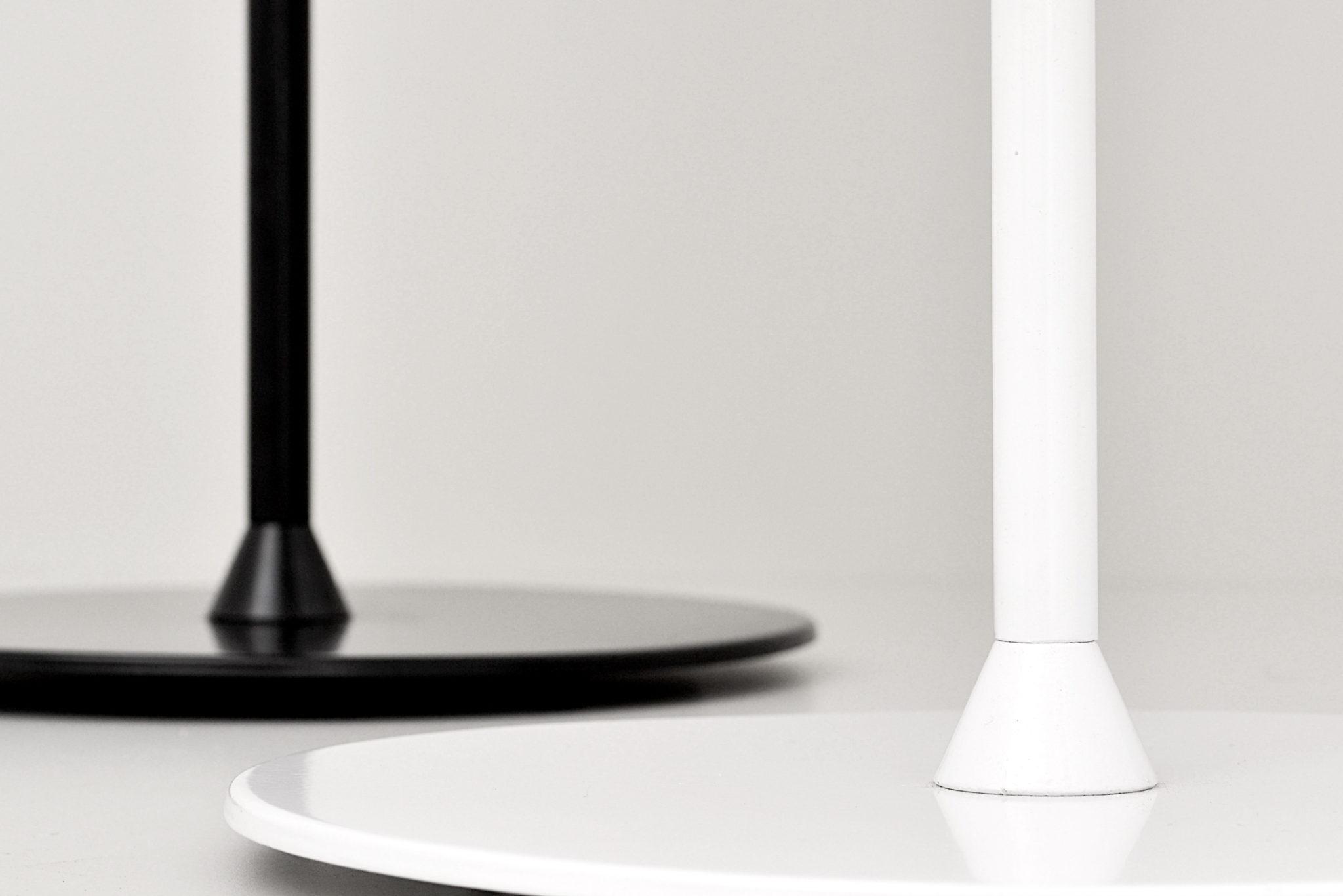 blanca mesa Milán negra Lámpara de o thsdxQrC
