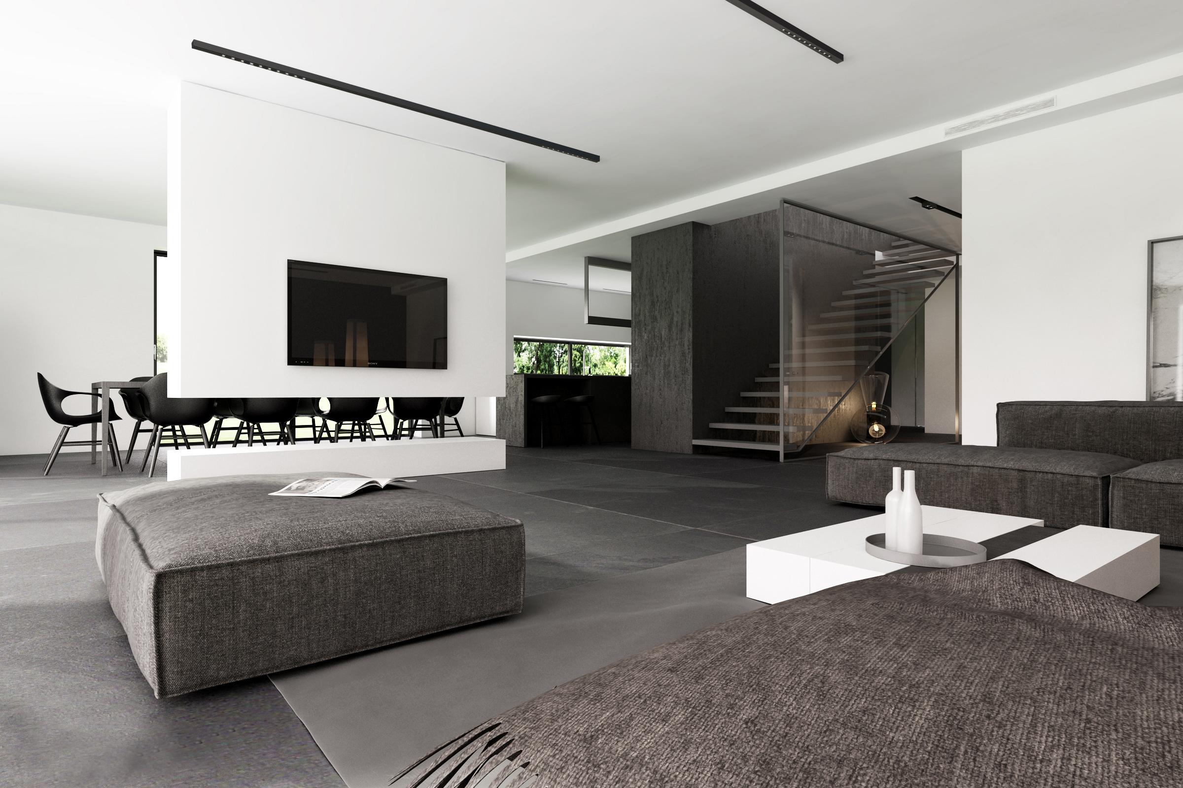 Luminaria lineal de colgar o aplicar wally 10 boutique for Modelos de interiores de casas modernas